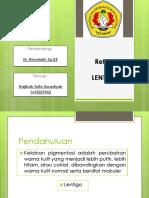 Referat Lentigo PPT