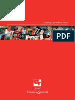 Catalogo General Programa Editorial