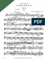 Tchaikovsky Violin Concerto International Edition