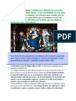 Historia Del Santo Rosario