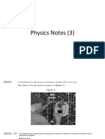 Physics Notes (3)