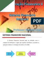 3 Sistema Financeiro Nacional