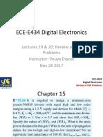 Lecture 20 - Nov 28
