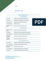 2017 2018 Ms Calendario Academico