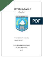 Individual Task III - Desky Pradinata - Xii Ms 1