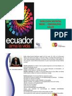 Rendicion de Cuentas 2014 Distrito 08d01 - Esmeraldas - Salud Ok