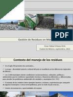 Gestion de Los Residuos en Mexico