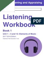 GCSE Music Workbook 1 - Elements of Music