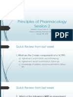 principles of pharmacology - session 2  student copy