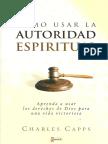 Charles Capps - Como Usar La Autoridad Espiritual