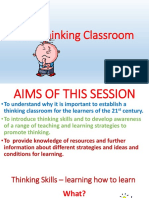 The Thinking Classroom PpT New