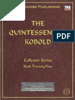 D&D the Quintessential Kobold PDF