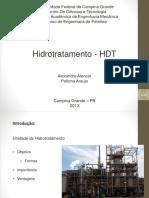Apresentação Unidade de Hidrotratamento