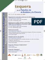 Programa Antequera - Rutas de El legado andalusí