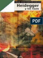 LIBRO Heidegger y Los Nazis