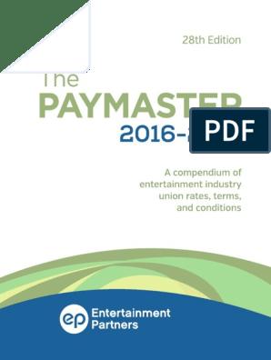 EP Paymaster 2016-2017 v1 Copy   Sick Leave   Workweek And