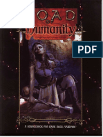 Vampire the Dark Ages - Road of Humanity