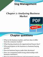 Understanding Industrial Market