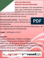 Posters Centro de Matrícula 2017 B 72