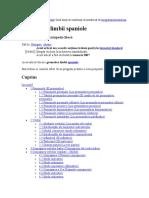 spaniola gramatica