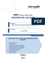 1.- Dossier de Calidad Civil Transformador CD
