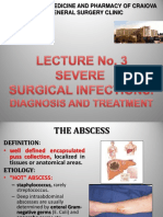 Severe surgical infections