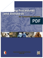 Operating Procedures & Standards for Archaeolgical Services - April 2011