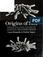 Origins of Sex, Three Billion Years of Genetic Recombination, Lynn Margulis