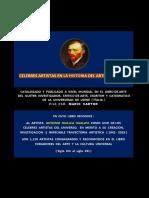 Celebres Artistas en La Historia Del Arte Universal