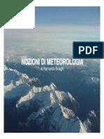 Nozioni di meteorologia - Piernando Binaghi