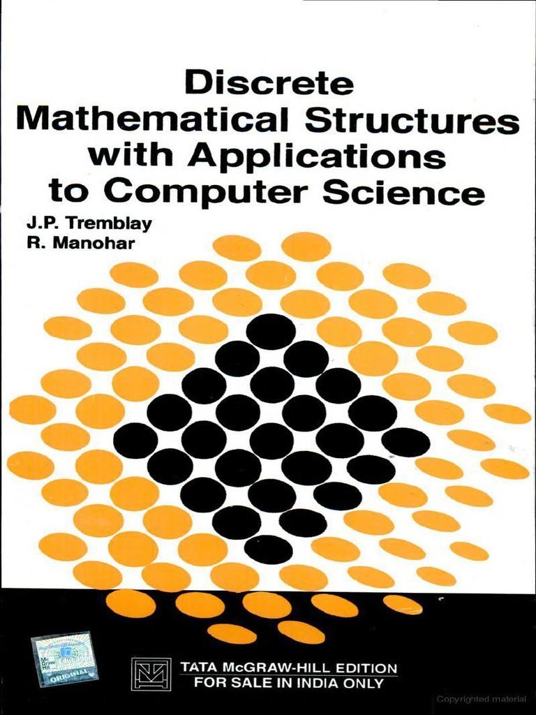 discrete mathematics by tremblay and manohar ebook
