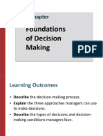 Fundations of Decision Making