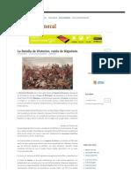 La Batalla de Waterloo, Caída de Napoleón