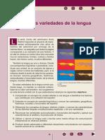 3 - Las Variedades de La Lengua