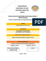Caratula Del Informe de La Paractica de Bateo