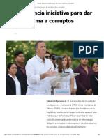 Meade Anuncia Iniciativa Para Dar c Rcel m Xima a Corruptos