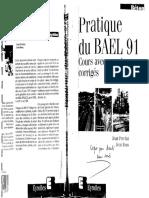 Pratique du BAEL 91. Cours avec exercices Corrigés - Perchat, Roux - Eyrolles, 10ª.pdf