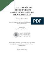Reutilizacion de Codigo Fuente Entre Lenguajes de Programacion