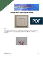 Cablage Interrupteur Double