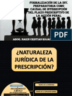 Prescripción de La Acción Penal