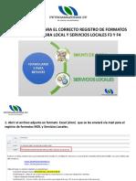 Presentación Forma de Llenar Formatos F3 y F4