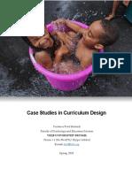 Case Studies Syllabus