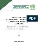 proiect procesare