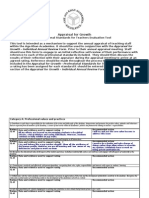 AFG Standards Evaluation Tool Naini