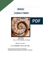 Chem i Timer