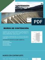Muros de Contención Diapositivas