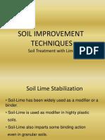 Soil Improvement Techniques Lecture No. 06