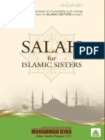 Salah (Prayers) for Islamic Sisters