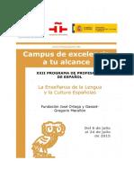 4 La Enseñanza de La Lengua y La Cultura Españolas