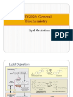 Unit 9 Lipid Metabolism